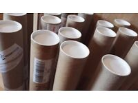 X19 large A1 poster tubes. Used