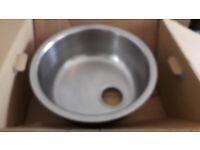 Opal 1.0 under-mount Round shape kitchen sink /Brand new