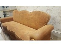 3 seater sofa settee with storage. Immaculate condition.
