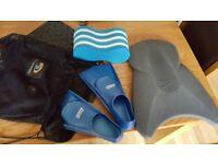 triathlon or swimming pool equipement