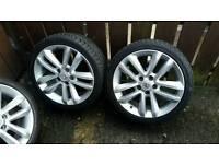 """Vauxhall 17"""" alloys (vectra,astra,zafira)"""