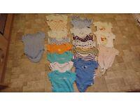 Baby Boy Clothes / Big Bundle of 20 Bodysuits / 18 - 24 months/ Disney,Miniclub,Early Days, George