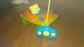 Spongebob remote control car