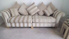 Snuggle chair and settee both only a year old and in good condition