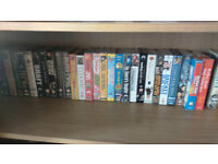 Lot of VHS tapes, some duplicates, some new more than 60
