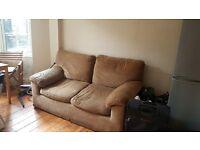 Sofa 2 seater beige