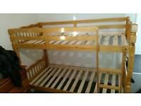 bunk bed solid wood Brazilian pine