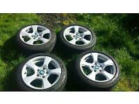 Bmw e90 17 inch alloys with excellent 225 45 17 tyres