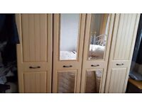 Excellent condition wardrobes