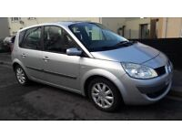 2007 Renault Scenic Automatic 1.6 12 month mot full history