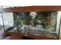 Juwel Rio 180 fish tank with stand