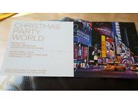 Christmas Party World NEC Bham 13th Dec