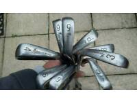 Full set of irons 9 clubs excellent condition.
