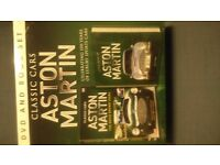 Aston Martin Classic Cars DVD and Book Set