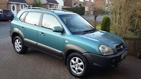 HYUNDAI TUCSON 2.0CRTD CDX 2005 55, MOT MANUAL, NEW TIMING BELT & WATER PUMP