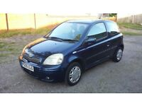 Toyota yaris vvt-i blue 05 reg 1 owner car