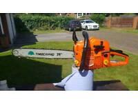 """Timberpro 20"""" petrol chainsaw"""