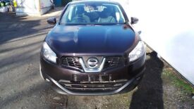 NISSAN QASHQAI COMPLETE FRONT END