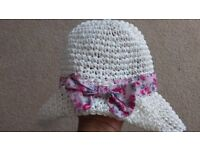 Gorgeous girls summer hat from Monsoon.