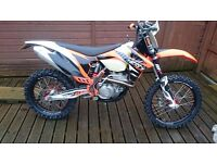 KTM XC-F 350 Enduro Motocross Road registered PX and delivery possible