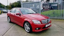 MERCEDES C220 AMG SPORT AUTO... FSH...FINANCE THIS CAR FROM £46 PER WEEK...MINT CONDITION...