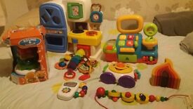 8 piece toy bundle, all items working. £15 all in; includes: WILL SPLIT