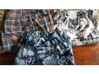 Mens board shorts 3 pairs. XXL