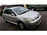2005 Toyota Corolla 1.4 VVT-i T3 5dr Low Mileage HPI Clear @ 07445775115 @ 07725982426@