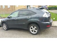 2007 LEXUS RX 400H HYBRID GREY ELECTRIC 4WD