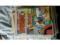 Dandy comics mostly 1996 around 60 comics