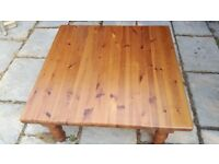 Pine Coffee Table 3ft square