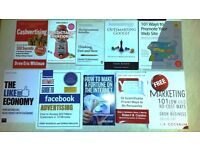 10 Internet Marketing - Marketing Books As New.