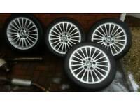bmw e36 e46 17 inch alloy wheels