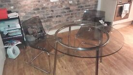 Dining table and 2 chairs - £60