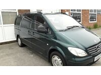 mercedes vito lwb day van 2008
