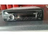 Sony car stereo cd player USB.