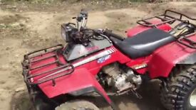 Honda fourtrax250 quad