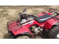 Honda fourtrax250 quad