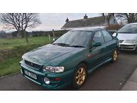 Subaru Impreza, 4 door, All wheel drive, year 2001, mot, serviced, £1425
