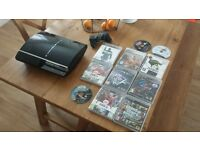 playstation 3 with games !!!!!