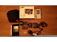Samsung Digital Camera 20MP with 2 batteries and 32GB SD card with Case