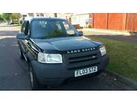 free lander 1.8 petro 83k 5 doors very good car wind screen damage spare or repair £499