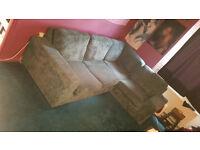 corner sofa - teal