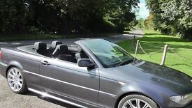 BMW 3 Series Convertible just been serviced inc refurbed alloys