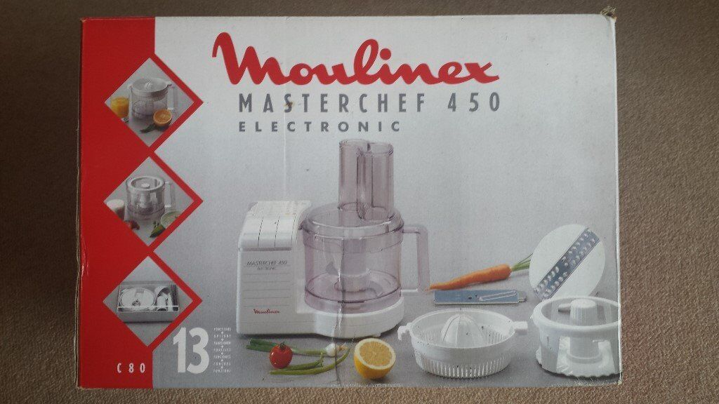 unused moulinex masterchef 450 electronic food processor in eastleigh hampshire gumtree. Black Bedroom Furniture Sets. Home Design Ideas