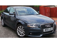 2010 10 AUDI A4 SE 2.0 TDI 6 SPEED MANUAL GREY 79K(PART EX WELCOME)