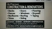 receive 10% your in home renovation today