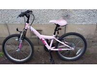 "Girls Bike 20"" Suit Age 7-10"