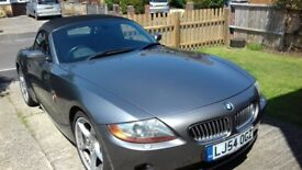 BMW Z4 SE (2004 54 plate) Convertible 3 Ltr 231bhp