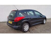 2010 PEUGEOT 207 S SW HDI £30 ROAD TAX VERY SMOOTH ENGINE EXCELLENT CONDITION THROUGHOUT